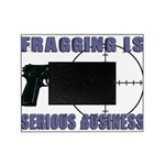 Serious Fragging Picture Frame
