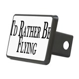 I\'d rather be flying Hitch Covers
