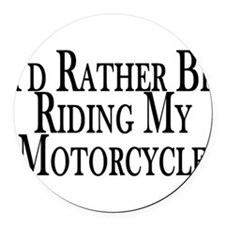 Cool Motorcycle Round Car Magnet