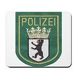 Berlin Police Mousepad