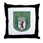 Berlin Police Throw Pillow