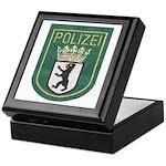 Berlin Police Keepsake Box