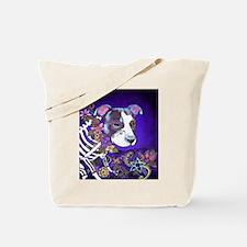 Dia los muertos, dog Tote Bag
