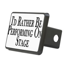 Rather Perform On Stage Hitch Cover