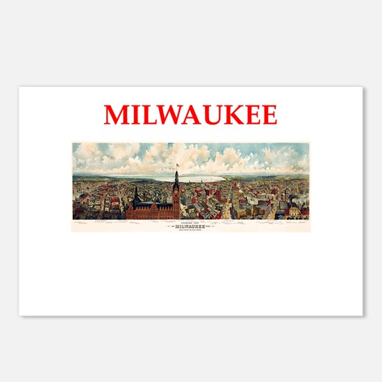 milwaukee Postcards (Package of 8)
