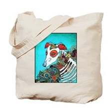 Dia Los muertos, day of the dead dog Tote Bag