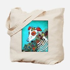 Dia Los muertos, day of the dead dog Tote Bag