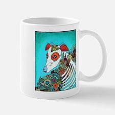 Dia Los muertos, day of the dead dog Mug