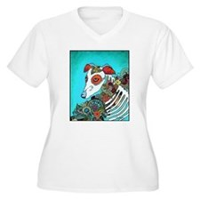 Dia Los muertos, day of the dead dog T-Shirt