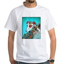 Dia Los muertos, day of the dead dog Shirt