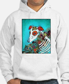 Dia Los muertos, day of the dead dog Jumper Hoody
