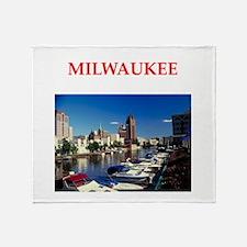 milwaukee Throw Blanket