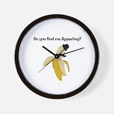 Appeeling Wall Clock