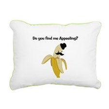 Appeeling Rectangular Canvas Pillow