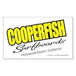 Cooperfish Rectangle Sticker