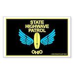 Ohio Highwave Patrol Rectangle Sticker