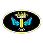 Ohio Highwave Patrol Oval Sticker