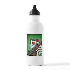 Dia los muertos, dog Water Bottle