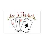 Ace Hole.png Rectangle Car Magnet