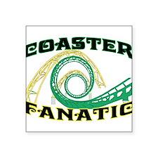 """Coaster Fanatic Square Sticker 3"""" x 3"""""""