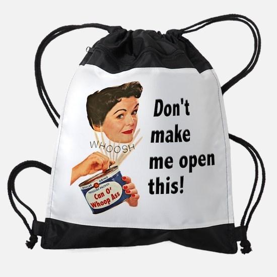 FIN-whoop-ass.png Drawstring Bag