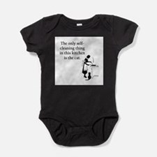 FIN-kitchen-cat.png Baby Bodysuit
