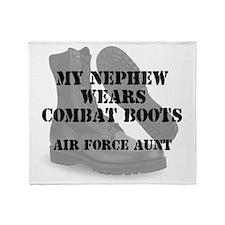 AF Aunt Nephew wears CB Throw Blanket