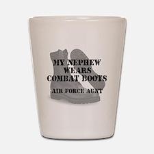 AF Aunt Nephew wears CB Shot Glass
