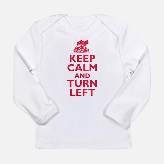 Keep Calm and Turn Left Long Sleeve T-Shirt