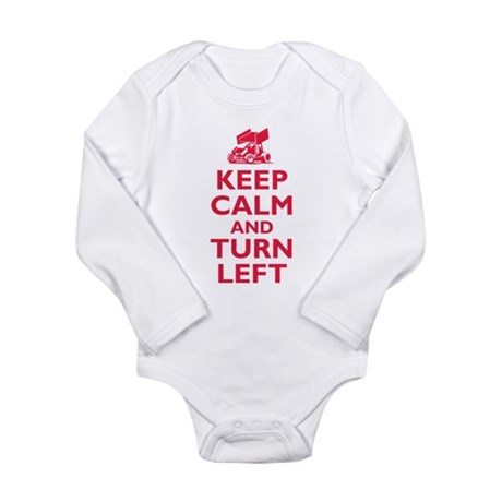 Keep Calm and Turn Left Body Suit