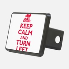 Keep Calm and Turn Left Hitch Cover