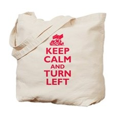 Keep Calm and Turn Left Tote Bag