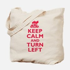 Keep Calm and Turn Left Tote Bag