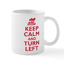 Keep Calm and Turn Left Mug