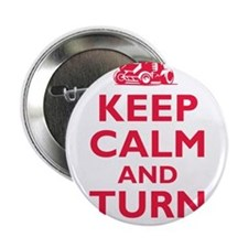 "Keep Calm and Turn Left 2.25"" Button"