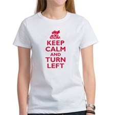 Keep Calm and Turn Left T-Shirt