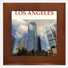 los angeles Framed Tile