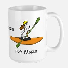 Dog Paddle Large Mug