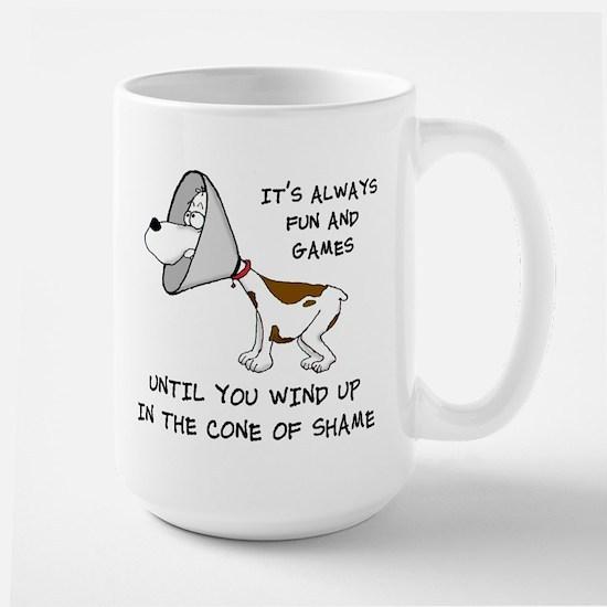 Cone of Shame Large Mug