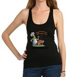 FIN-grill-therefore-i-am.png Racerback Tank Top