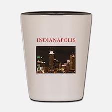 indianapolis Shot Glass