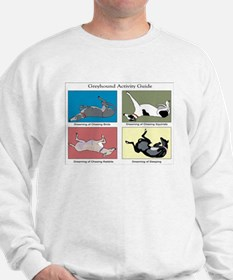Greyhound Activity Guide Sweatshirt