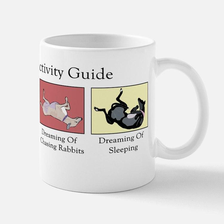 Greyhound Activity Guide Mug