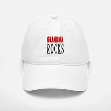 GRANDMA ROCKS Baseball Baseball Cap
