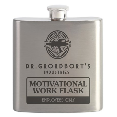 Dr. Grordbort's Motivational Work Flask