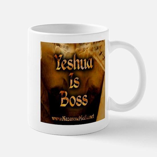 Yeshua is Boss Mug