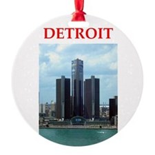 detroit Ornament