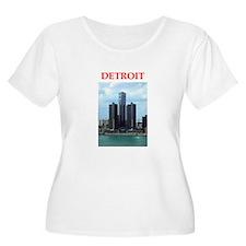 detroit Plus Size T-Shirt