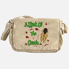 Attack Of Cicada Messenger Bag