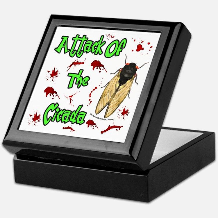 Attack Of Cicada Keepsake Box